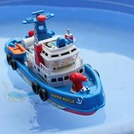 遙控船 兒童船水上輪船男孩非遙控電動潛水艇快艇小船帆船玩具船洗澡戲水 夢藝家