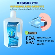 Reformulated Anolyte for Nasal Spray, Mouth Gargle & Misting for Protection & Management vs Covid