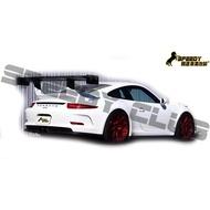 保時捷Porsche 991 911 GT3改 APR 碳纖維尾翼 供貨中