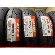 【崇明輪胎館】瑪吉斯MAXXIS  M6012R 100/90-10  機車輪胎