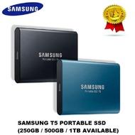 Samsung T5 Portable SSD (250GB/500GB/1TB)