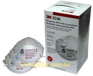 SAFER柑仔店-R95酸性活性碳口罩 3M-8246(暫無庫存)