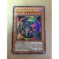 遊戲王 IOC-065 混沌的黑魔術師 金亮 卡片