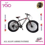 7GO's ALL ALLOY Asbike Fatbike 26er Mountain Bike