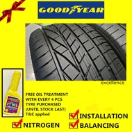 Goodyear Excellence tyre tayar tire(With Installation)185/55R16 225/50R17 225/45R17 225/55R17 215/50R17