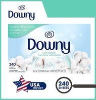 DOWNY - 織物柔軟乾衣紙(240張)-清涼棉 - 美國平行進口