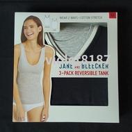 [Costco優惠]Jane & Bleecker 女可前後穿背心三入M Jane & Bleecker女背心三入組