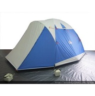 【【蘋果戶外】】速可搭 挪威森林 水藍『二手品』Scooda 贈鋁箔墊防水地布 5~6人270x270銀膠帳篷 露營帳篷 六人帳篷 家庭帳篷