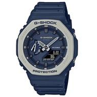 G-SHOCK 雙顯 男錶 矽膠錶帶 防水200米 礦物玻璃(GA-2110ET-2A)