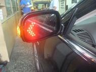 (柚子車舖) 2001-2007 ALTIS 9代/9.5代 鍍鉻雙箭頭LED方向燈後視鏡片 -可到府安裝 b