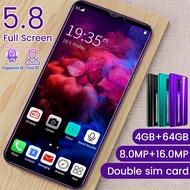 【bisa cod】RINO3 Pro Smartphone hp murah 500 ribuan 4GB RAM 64GB ROM Handphone Android 9.0 hp murah 4G network