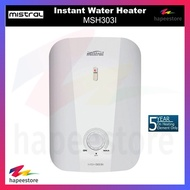 Mistral Instant Water Heater I MSH303I I Splash Proof IP25 Standard I Local Warranty