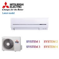 Mitsubishi Electric AirCon Model: MUY-GE10VA / MSY-GE10VA SYSTEM 1/2/3/4 Local Distributor with Local Stocks and Warranty