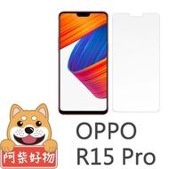 【阿柴好物】OPPO R15 Pro(9H鋼化玻璃保護貼)
