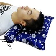 頸椎枕頭枕芯艾草薰衣草中藥修復頸椎專用勁椎護頸糖果圓形牽引枕  NMS
