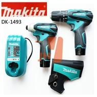 Makita牧田 DK1493 10.8V 雙機組 TD090+HP330 衝擊起子+震動電鑽
