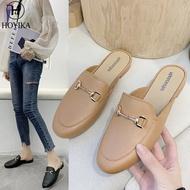 ส่วนลดโปรโมชั่น!!! รองเท้าผู้หญิง รองเท้าหัวแหลมส้นเตี้ยแฟชั่น รองเท้าส้นแบน รองเท้าคัชชู women Casual Flat Shoes Slip-ons LTH279-6