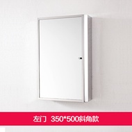 Stainless steel mirror cabinet Bathroom cabinet mirror bathroom cabinet mirror case bathroom mirror
