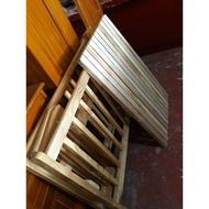 Wood Crib (for baby)