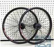20 inch bike wheels 406 bicycle wheel set for folding bike 4 bearing hub disc brake rim bike wheel set super light 100mm 135mm