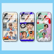 Samsung Case Samsung Galaxy A71 A51 A50 A30S A50S A21 A30 A20 BTS Casing Phone Case GLASS CASE protective Cover