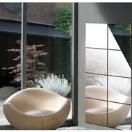 Qunataruma Sticker Glass Mirror Wall Stickers Wallpaper Kitchen Bedroom Decoration Esthetic Bath