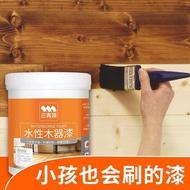 #現貨#熱銷~三青漆水性仿古漆木器門漆木頭家具翻新油漆紅木實木地板木紋木漆