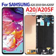 """6.4""""原廠手機螢幕總成適用於三星Samsung Galaxy A20 A205 SM-A205F"""