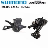 2020 NEW SHIMANO DEORE SL M6100 RD M6100 12S Groupset MTB Mountain Bike Groupset 12S M6100 Rear Dera