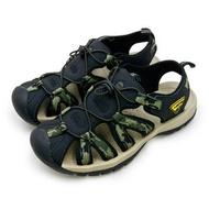 【LOTTO】 專業護趾運動涼鞋 冒險者系列 迷彩綠 6115 男