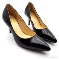 Zanotti รองเท้าคัชชูผู้หญิง ส้นสูง3นิ้ว หนังแก้ว HE18917
