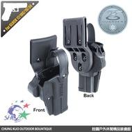 詮國 - Guarder 警星 G4警用3級防搶槍套(GLOCK 17/18C/19/34) / G4-GLOCK(A)