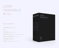 BTS(Bangtan boys) - [Fake love] LOVE YOURSELF 轉 Tear [Y ver.] (Vol.3) CD+Photobook+Mini Book+Photocard+Standing Photo+folded Poster+Free Gift