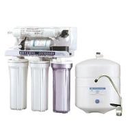 標準五道RO逆滲透純水機- 配備壓力桶、出水鵝頸龍頭及全套管材零件《免運費》