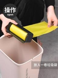 垃圾桶 自動換袋垃圾桶家用帶蓋客廳臥室衛生間廚房辦公室創意大號衛生桶