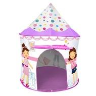 麗嬰兒童玩具館~親親系列-浪漫寶貝-摩登公主帳篷折疊遊戲球屋送100球