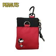 紅色款【日本正版】史努比 墨鏡系列 票夾零錢包 票夾包 零錢包 Snoopy PEANUTS - 028880