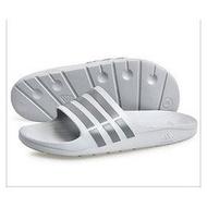 adidas 男拖鞋 灰 防水拖鞋 DURAMO SLIDE B44298 原價790