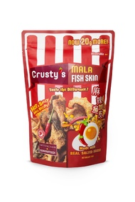 Crusty Salted Egg Fish Skin - Mala Flavour - 3 Pack