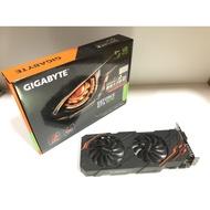 技嘉GIGABYTE GEFORCE GTX 1070 雙風扇8GB顯示卡(8成新)