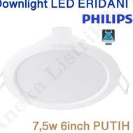 Philips Eridani Led Downlight 7.5w 6inch 7.5w White 7.5w Mjh