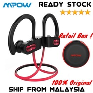 Mpow Flame IPX7 Waterproof Bluetooth 4.1 Noise Cancelling HiFi Stereo Earphone