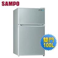 【SAMPO 聲寶】100公升一級能效雙門冰箱(SR-A10G)