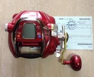 大象(原廠授權維修站)*Daiwa 頂級SEABORG 750MT-H 台灣專用電動 紅怪速動版(缺貨中.可預訂)*