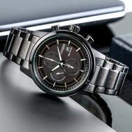 【CITIZEN 星辰】Eco-Drive 黑夜騎士光動能不鏽鋼腕錶/黑(CA0615-59F)