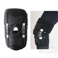 Adjustable Hinged Wraparound Knee Brace Patella Compression Knees Supports Kneepad Relief