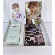 VT X BTS L'ATELIER des SUBTILS Perfume 50ml Eau de Poudre (Suga) + 15 Photo card
