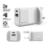 威寶 - 雙插頭 20W PD & QC 3.0 USB 充電器