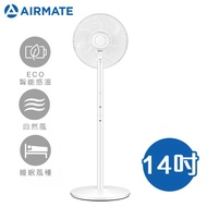 AIRMATE艾美特 14吋 DC直流馬達遙控立地電風扇 FS35123R