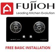 Fujioh FG 2792 SVGL 2 Burner Glass Hob with safety valve